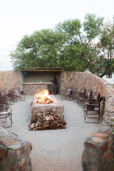 African Hunting - Royal Karoo fire place
