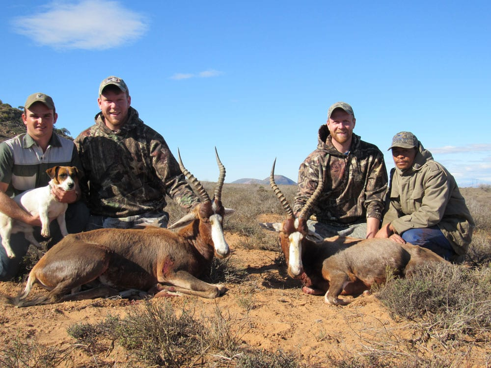 African Hunting - Hunters doing what they love