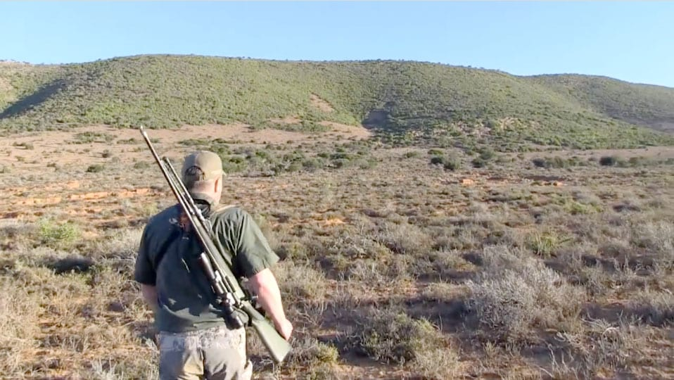 Hunter walking in the field, video by the Hunting Chronicles